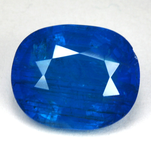 2.83 Cts Natural Neon Blue Apatite Oval Cut Madagascar