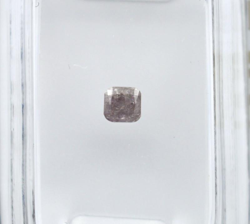 Diamant rose 0,21 carats - Natural Pink Diamond AIG Certified