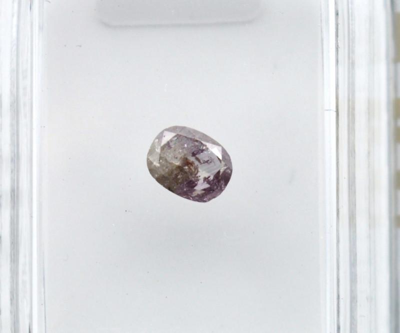 Diamant rose 0,22 carats - Natural Pink Diamond AIG Certified