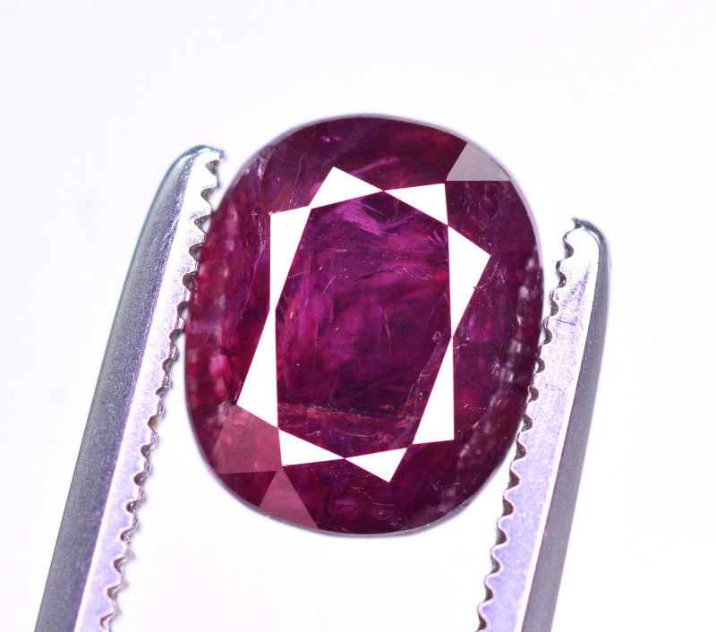 Superb Color 2.25 Ct Natural Ruby From Mozambique