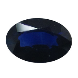 0.68 ct Oval Blue Sapphire (Deep Royal Blue)