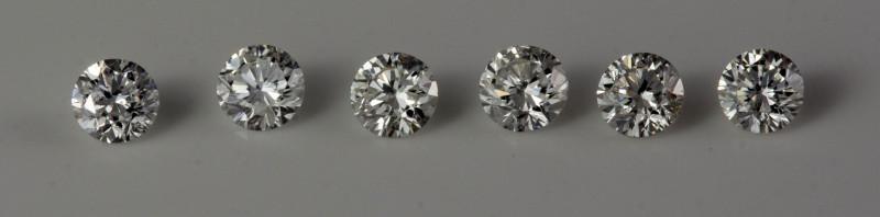 1.70 mm  Si2/D-F 0.12 ct Diamond GPC Lab Real description