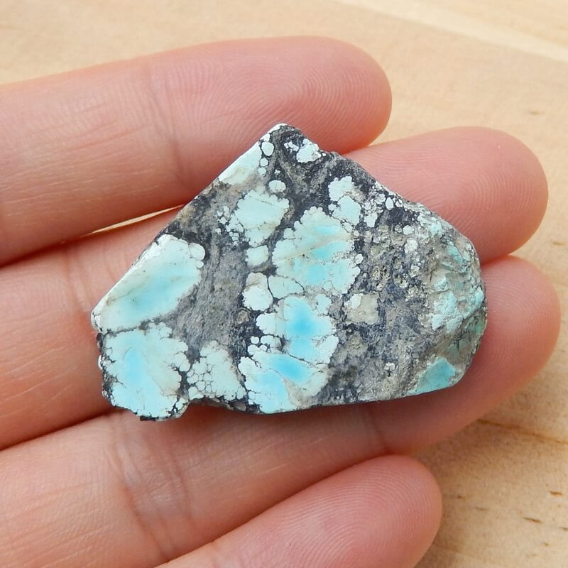 Raw Turquoise Nugget Turquoise Gemstone Cabochon ,lucky Stone H3834