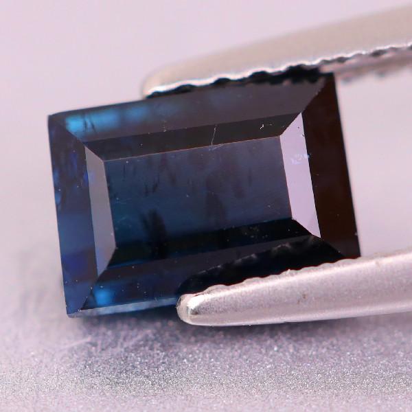 0.96 CT Dark Blue Indicolite Tourmaline (Brazil)