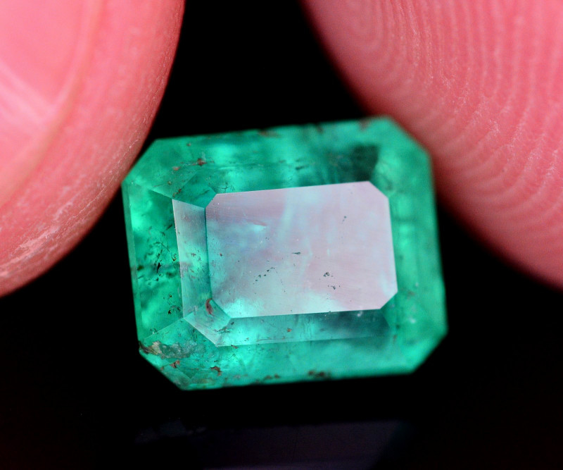 Brilliant Color 2.20 Ct Natural Panjsher Emerald. ARA