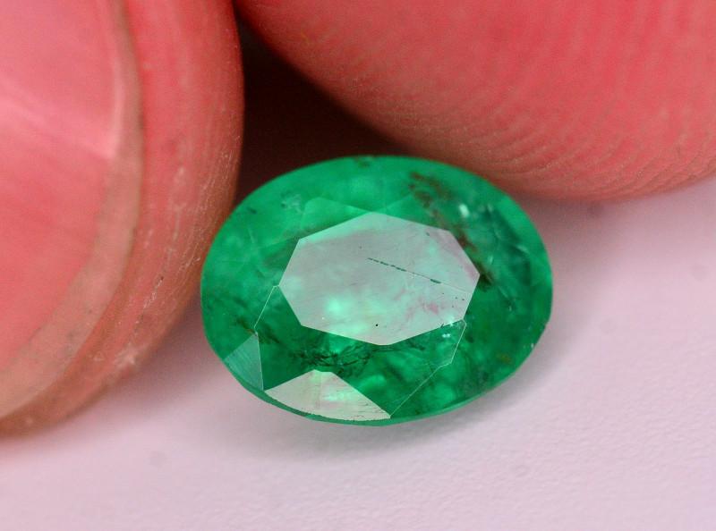 AAA Grade 1.05 Ct Natural Panjsher Emerald. ARA
