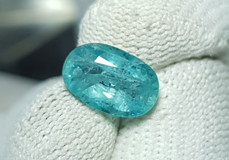EXTREMELY RARE UNTREATED 1.95 CTS NATURAL GRANDIDIERITE STONE