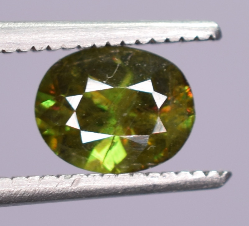 Carats Natural Sphene Gemstone
