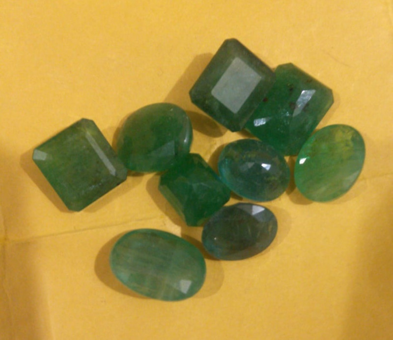 50cts  Emerald Parcel , 100% Natural Gemstones