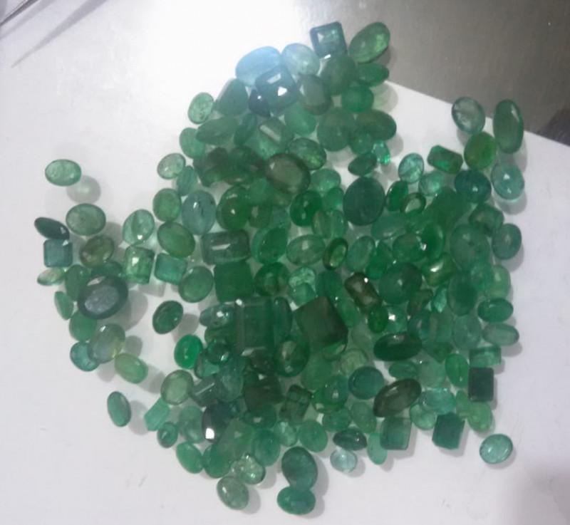 300cts  Emerald Parcel , 100% Natural Gemstones