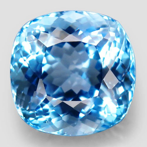 18.64  ct Natural Swiss Blue Topaz – IGE Certificate