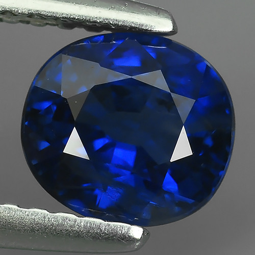 CERTIFIED 1.36 CTS AWESOME BLUE SAPPHIRE FACET GENUINE SRILANKA GEM!!