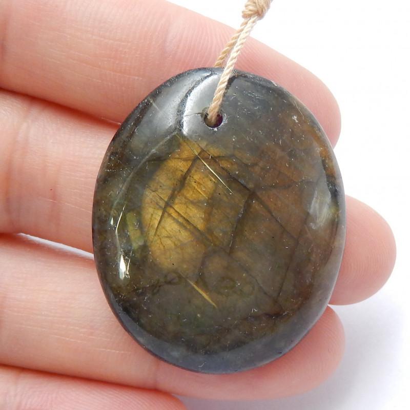 Labradorite gemstone pendant,Flash necklace,gemstone pendant B589