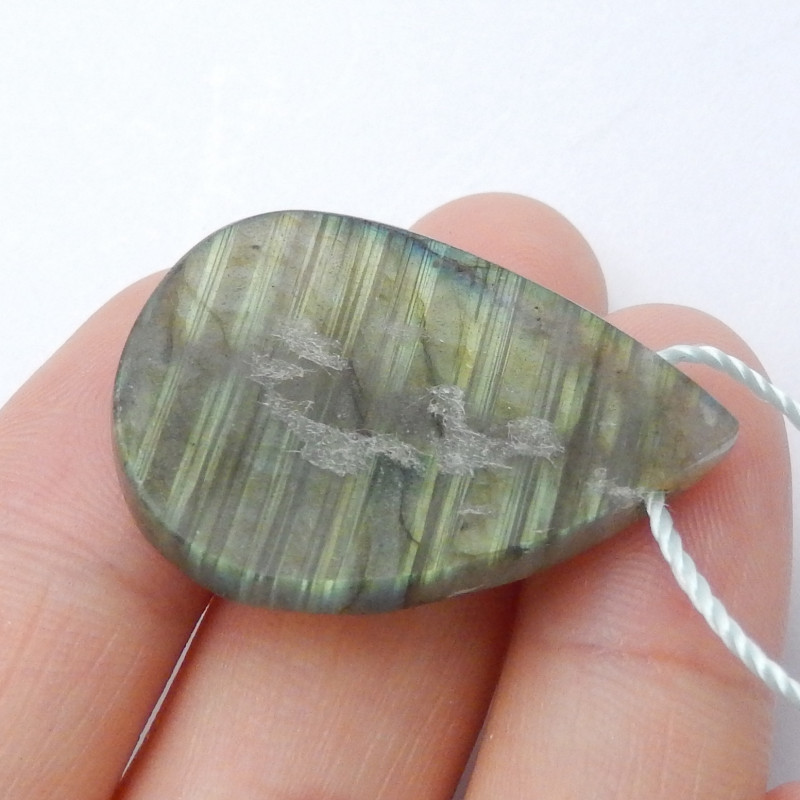 Faceted Labradorite gemstone pendant,Flash necklace,gemstone pendant B590