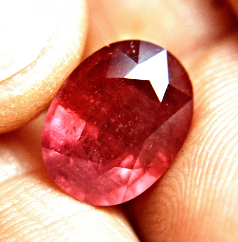 7.17 Carat Fiery Red Ruby - Gorgeous