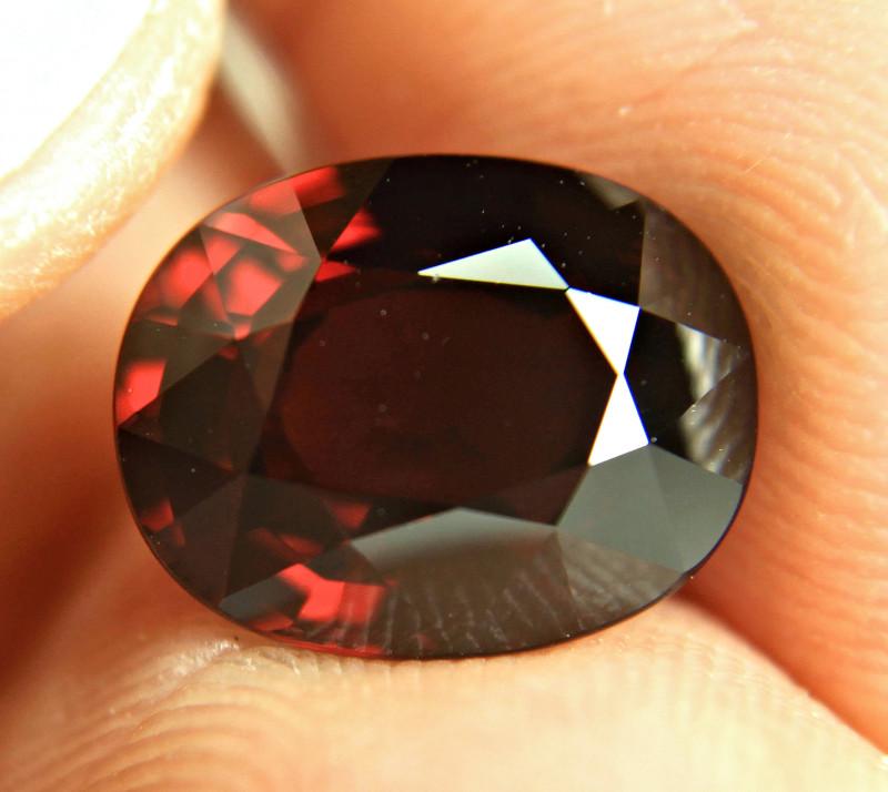 7.38 Carat Fiery Red Rhodolite Garnet - Gorgeous