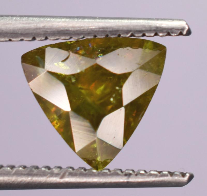 0.95 Carats Top Fire  Natural Sphene Gemstones