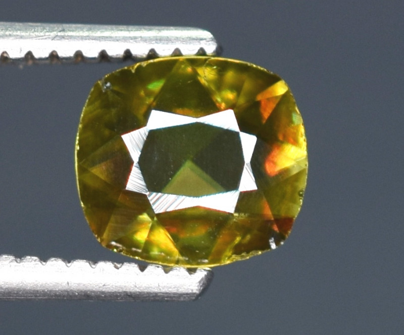0.45 Carats Top Fire  Natural Sphene Gemstones