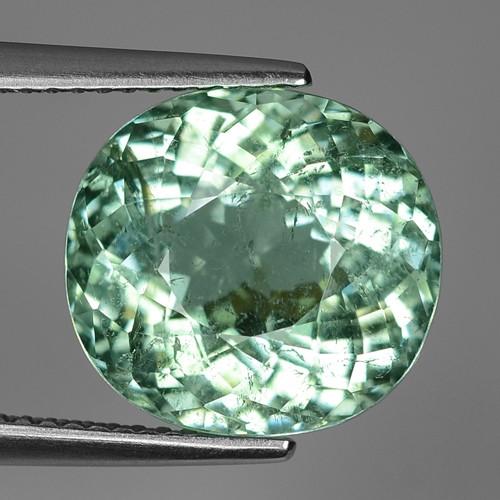 9.13 Ct AIG Certified Paraiba Toumaline Beautifulest Faceted Gemstone.