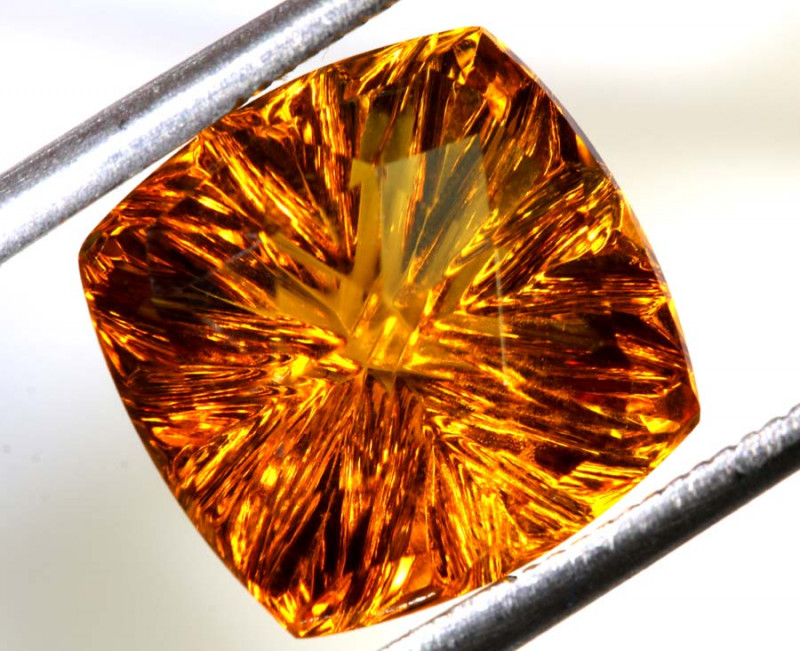 7.04- CTS CITRINE FACETED PG-2575