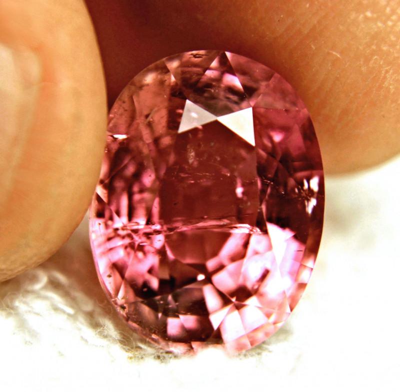 9.59 Carat Vibrant Raspberry Tourmaline - Gorgeous