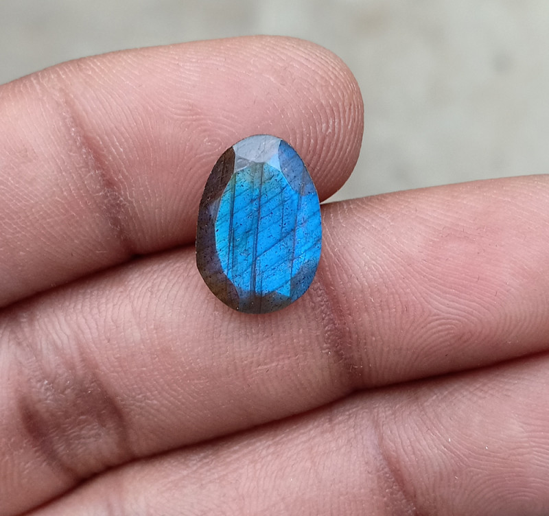 LABRADORITE ROSE CUT GEMSTONENatural+Untreated VA3436