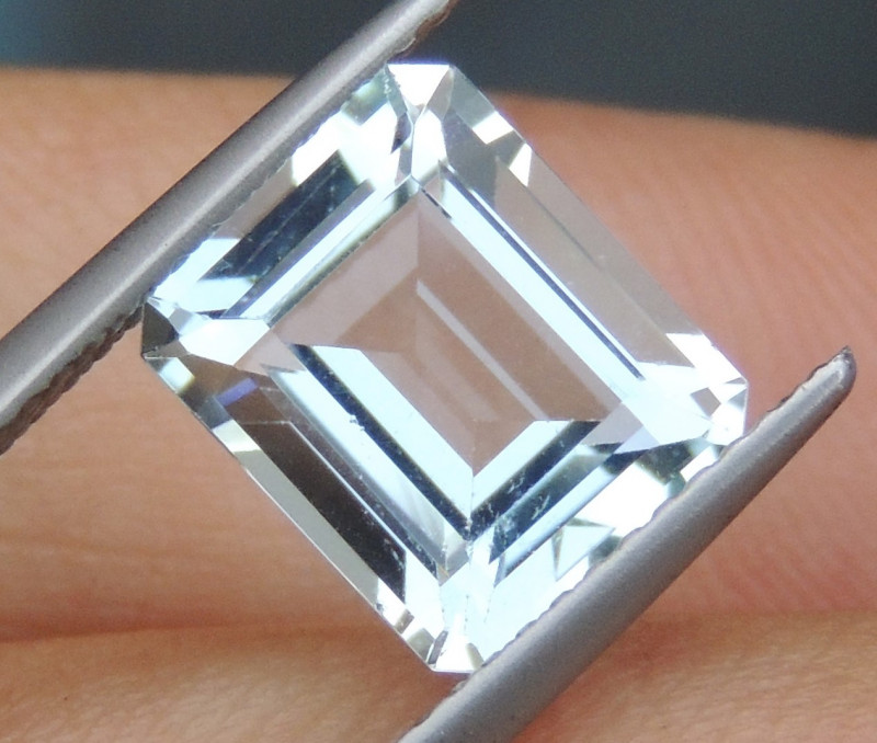 10x8mm Aquamarine Octagon