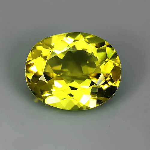 3.20~CTS DAZZLING TOP NATURAL GOLD YELLOW BERYL PERFECT 11X 9MM OVAL CUT~