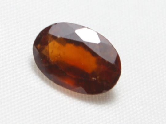4.30 carat Natural Hassonite garnet faceted cut loose gemstone 55