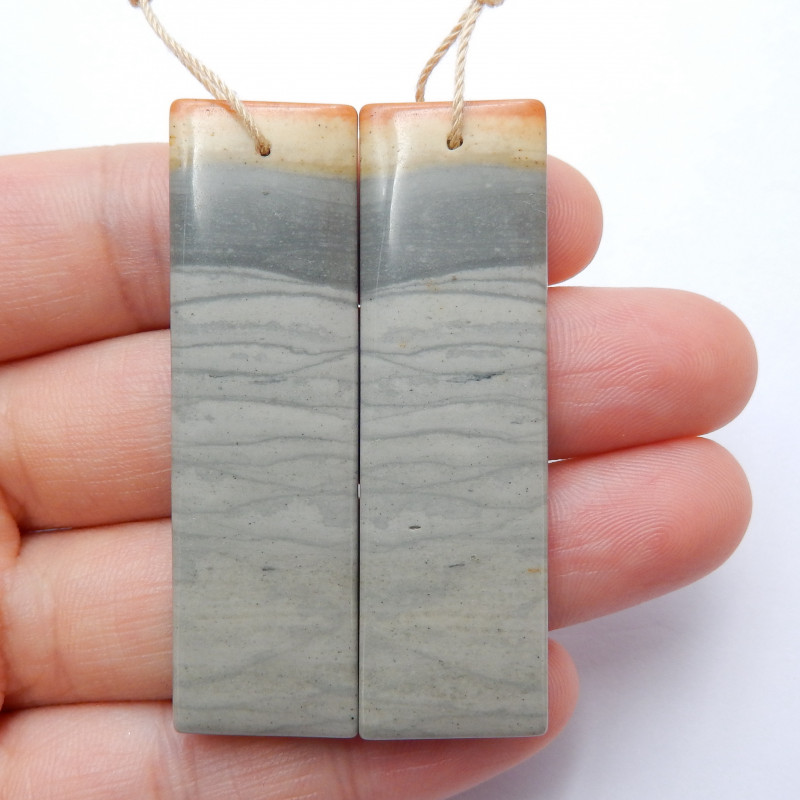 Wave Jasper Earring Pairs ,Beautiful Gemstone Earrings ,Natural Gemstone,Wh