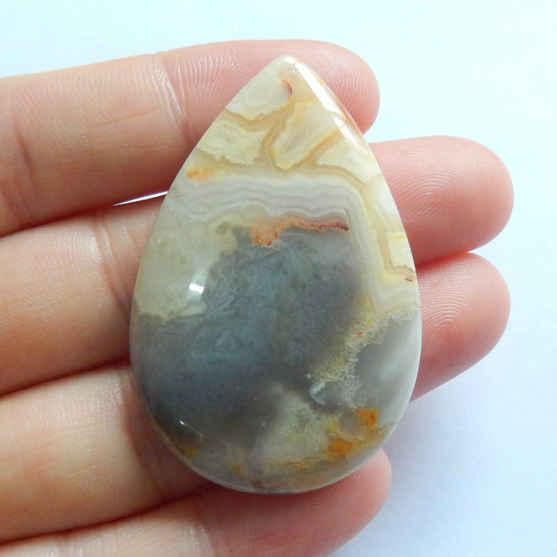Sale Crazy Lace Agate Cabochon ,Handmade Gemstone ,Customized Jewelry B678