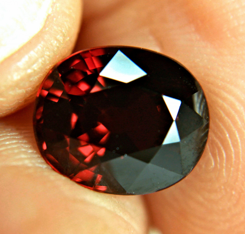 6.12 Carat Fiery Rhodolite Garnet - Gorgeous