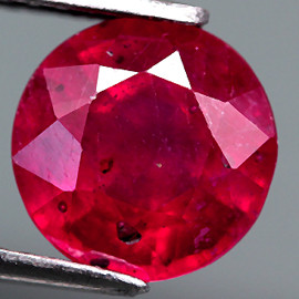 2.27 Cts. Top Quality Blood Red Natural Ruby Madagascar Gem