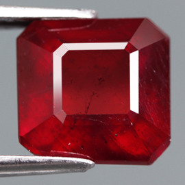 5.41 Cts. Top Quality Blood Red Natural Ruby Madagascar Gem