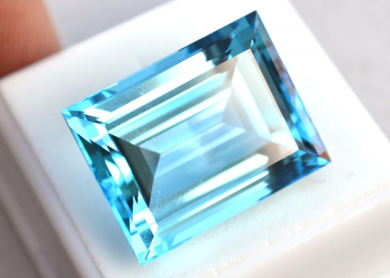 45.79 Carat Very Fine Emerald Cut Topaz