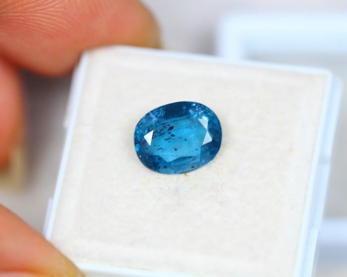 2.44Ct Natural Greenish Blue Kyanite Oval Cut Lot LZ2055