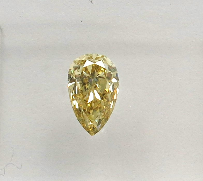0.52ct Natural Fancy brownish Yellow Diamond IGI certified