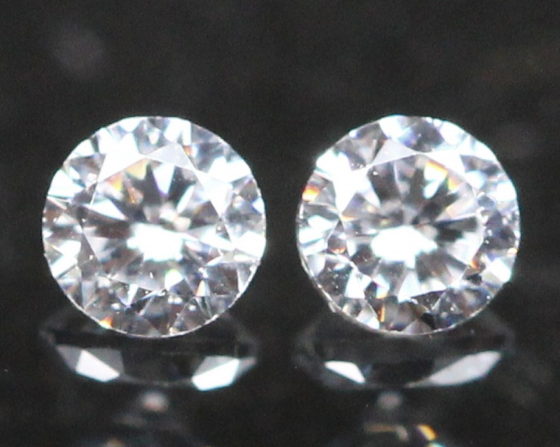 1.60mm D F Color VS Natural Round Brilliant Cut White Diamond