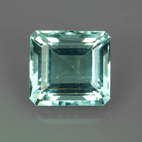 3.45 CTS ATTRACTIVE NATURAL TOP GRADE LUSTER BLUE AQUAMARINE!