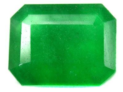Quartz Emerald Green colour   9.40  carats   QU 216