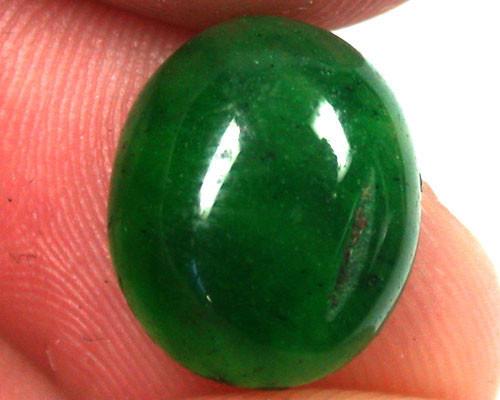 Quartz Emerald Green colour  4.60   carats   QU 232