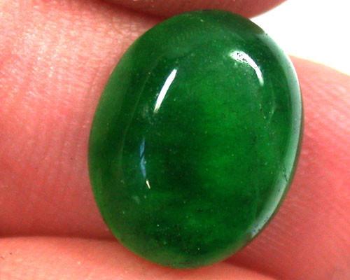 Quartz Emerald Green colour  4.65   carats   QU 235
