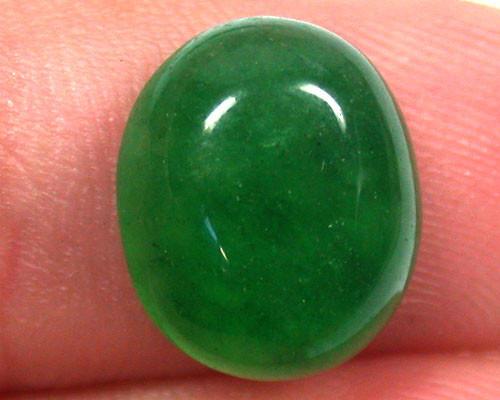 Quartz Emerald Green colour  4.95   carats   QU 238