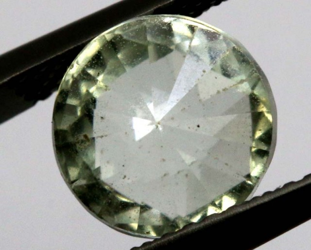 PRASIOLITE NATURAL FACETED STONE 2.95 CTS TBG-2159