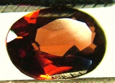 GARNET FACETED NATURAL STONE 0.45 CTS FN 4095  (TBG-GR)