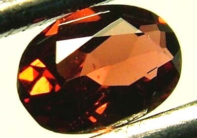 GARNET FACETED NATURAL STONE 0.55 CTS FN 4096  (TBG-GR)