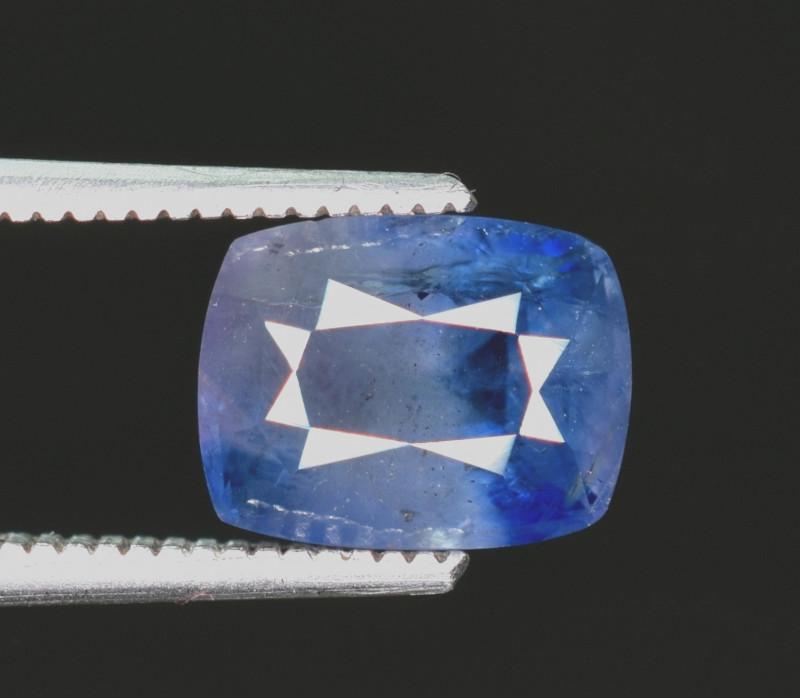 2.30 Carats Untreated Kashmir Corundum Sapphire Gemstone