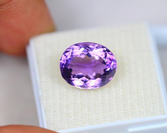 7.16Ct Purple Amethyst Oval Cut Lot LZ2082