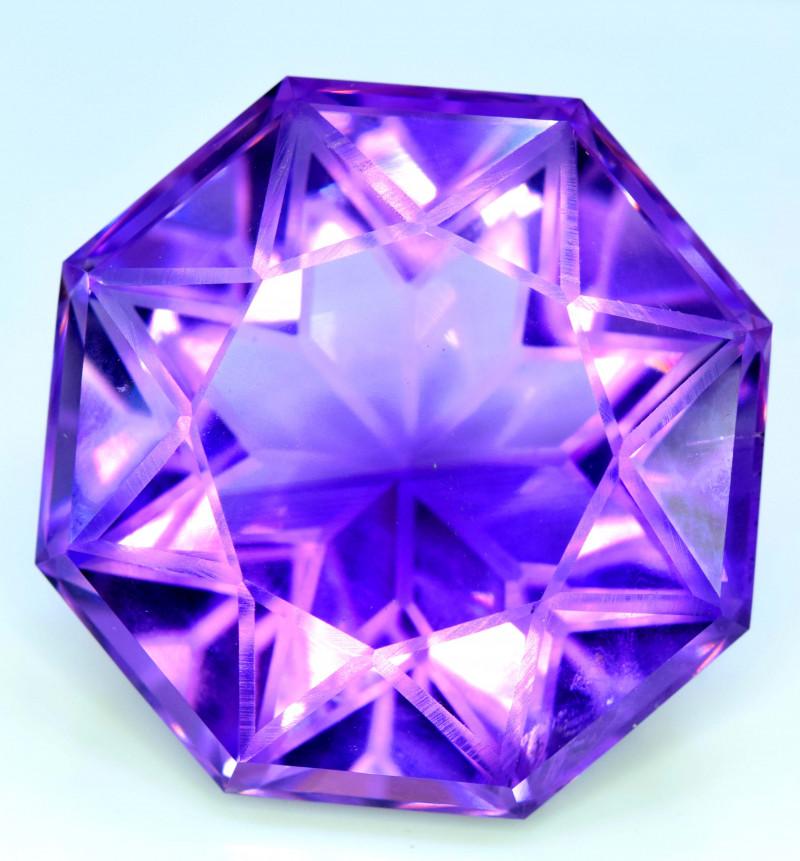 87.40 cts Natural Amethyst Gemstone