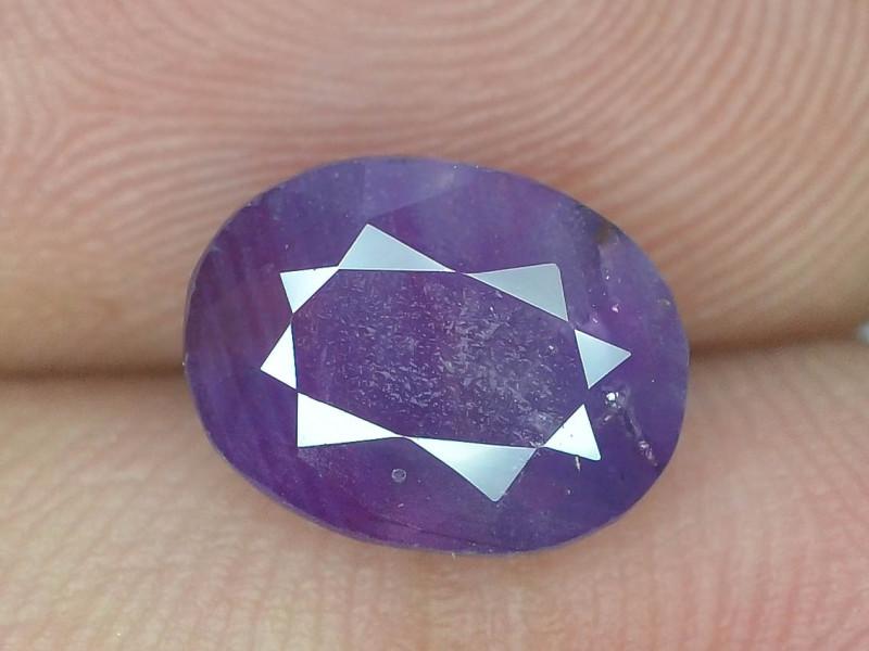 Rarest 3.50 ct Pink Corundum Sapphire~Kashmir M